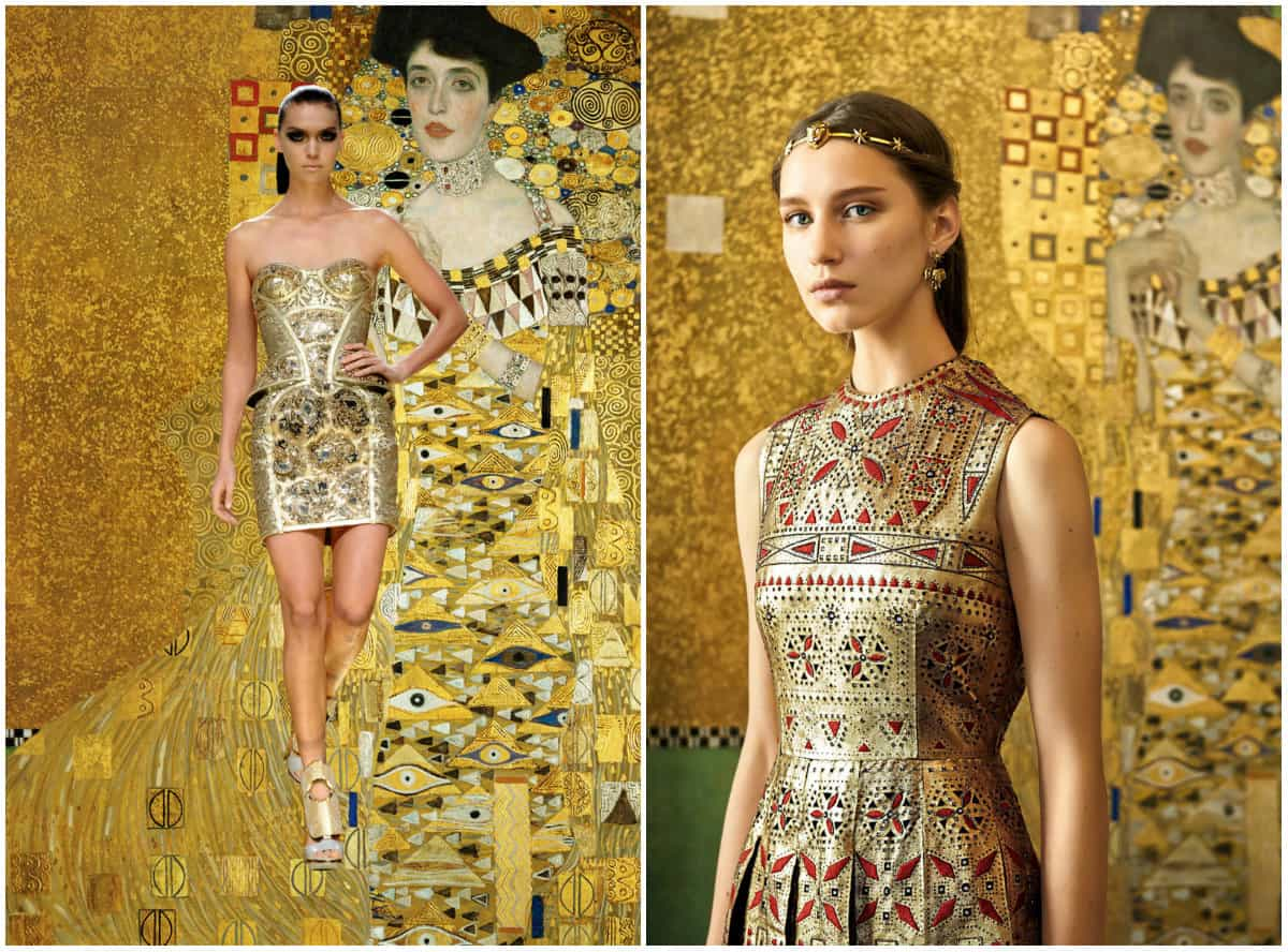 Klimt Clothing style: Golden Phase