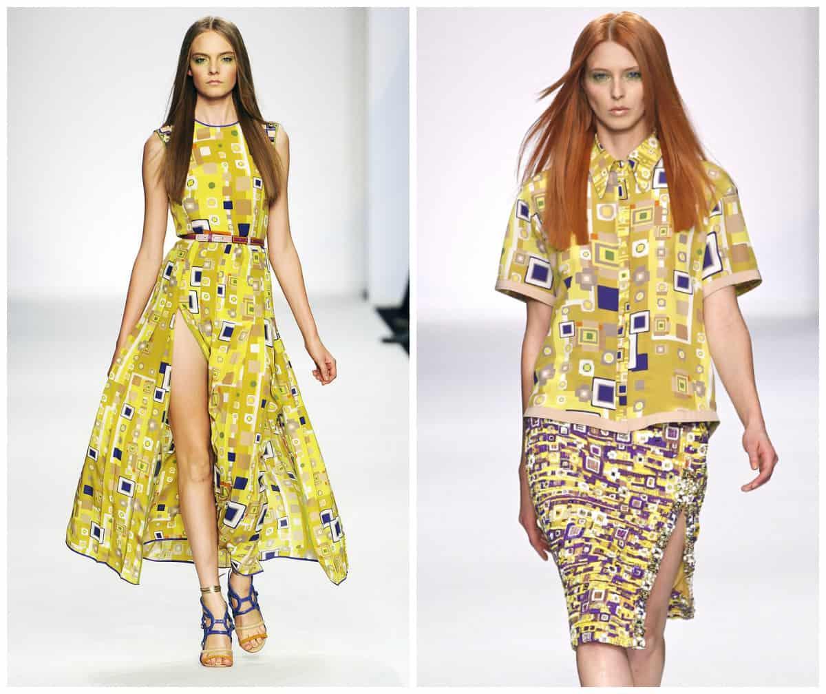 Klimt Clothing Style: Fashion Trends: The Kiss motives