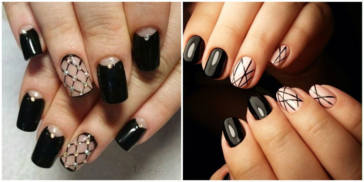 Black Nail Designs 2019 Several Tips To Get Stylish And Elegant