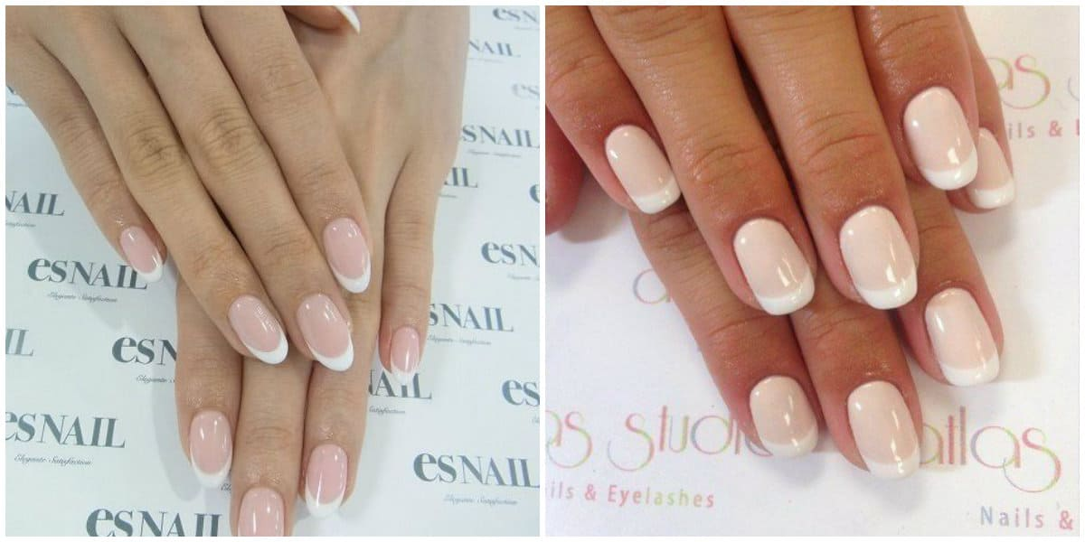 French Nails 2021 French Nail Style: Beverley Hills Nails Style