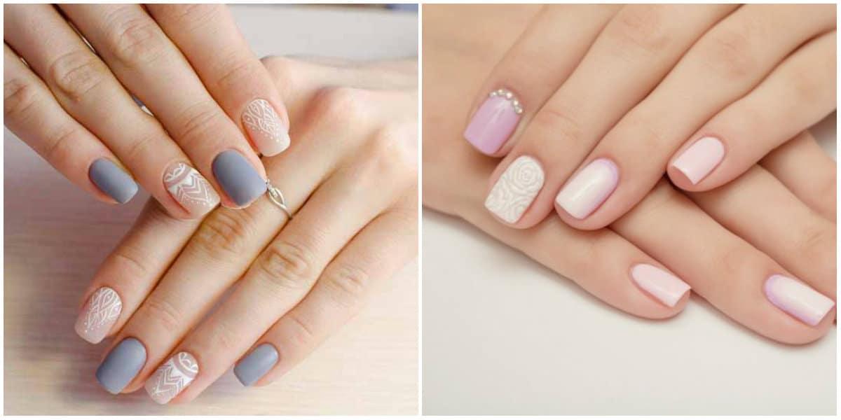 Nail Style 2020: Light nail art