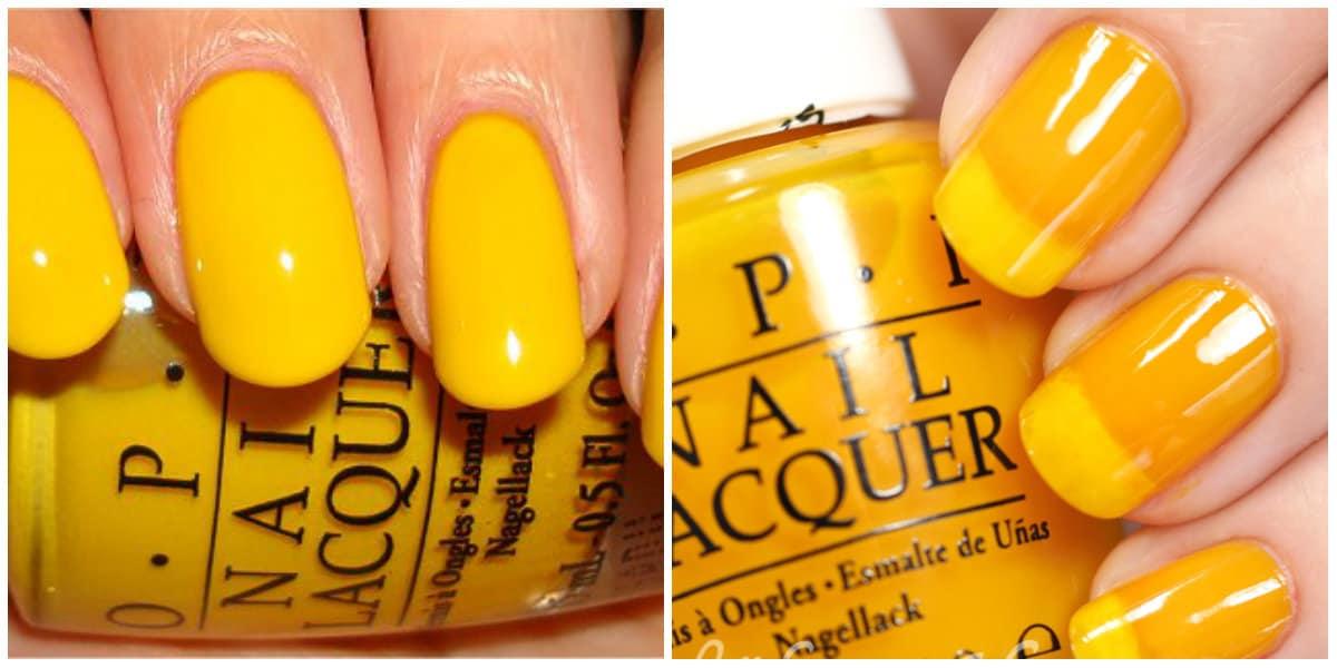 OPI Colors 2019: Bright yellow nail polish