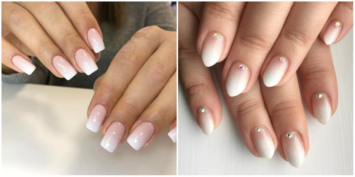 Ombre Nails 2021: French Ombre Effect