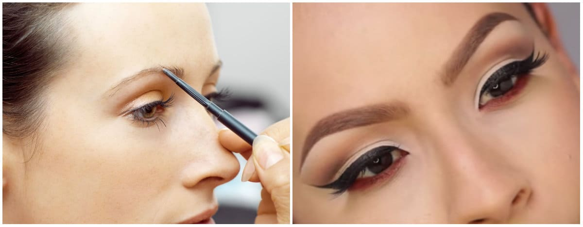 Best eyebrow makeup: thin eyebrows