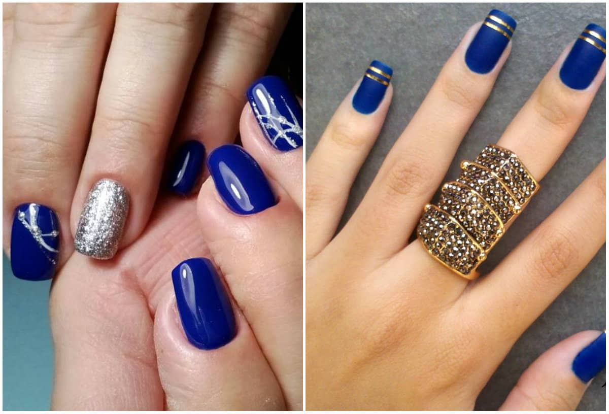 Nail Colors 2019: Egyptian Blue