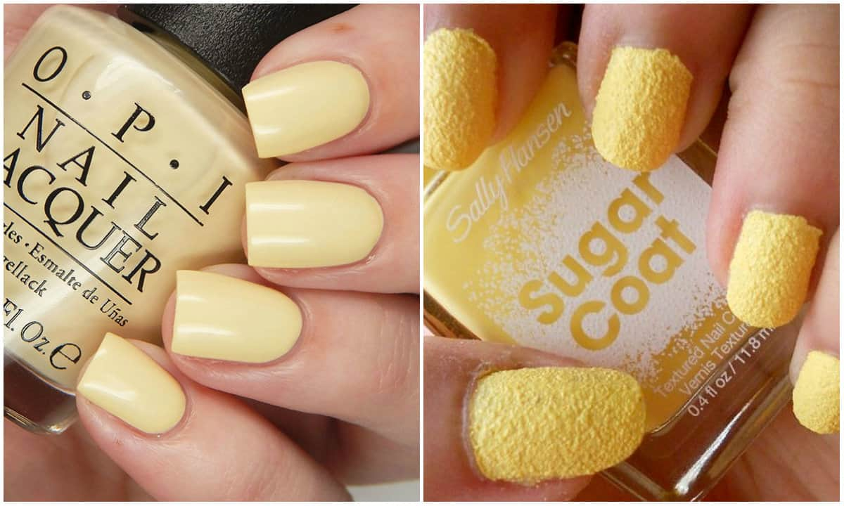 Nail Colors 2019: Buttermilk Yellow