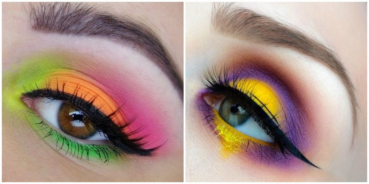 Eye Makeup 2019: Colorful eye makeup
