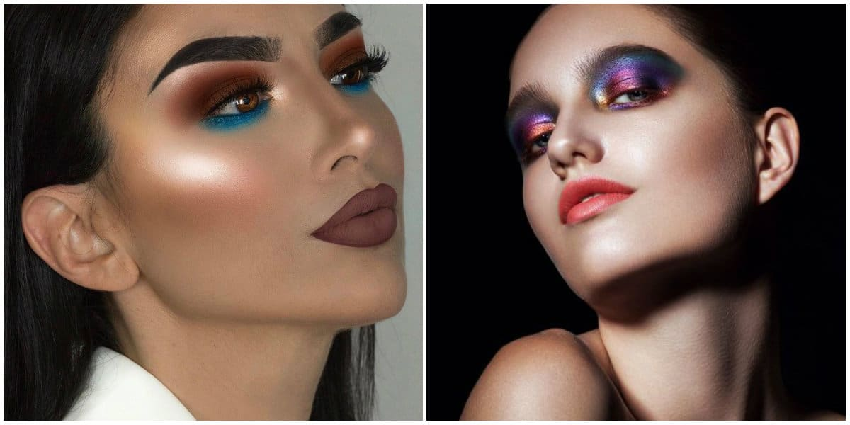 Eye Makeup 2019: Eye makeup with several colors