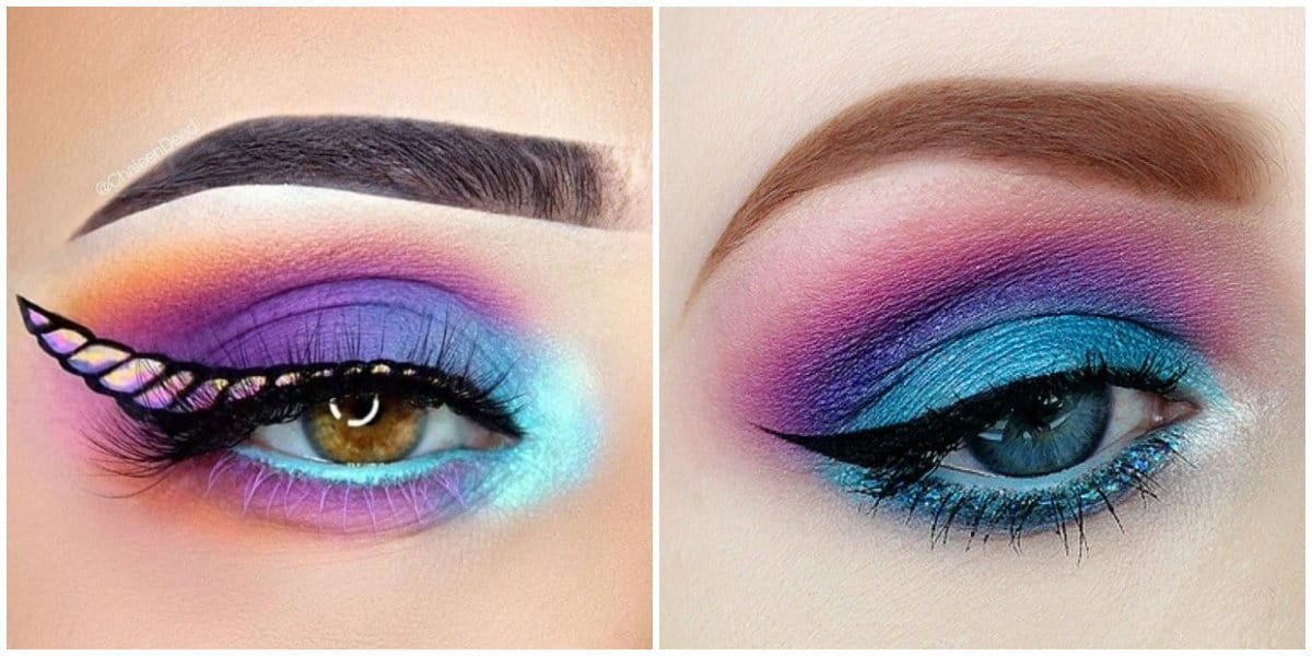 Eyeshadow Palettes 2019: Sea eyeshadow makeup