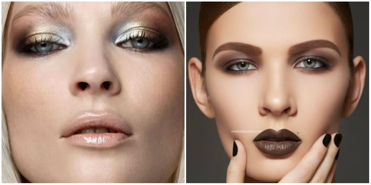 Lipstick Trends 2019: Light and dark-coored lips: Matte lipsticks