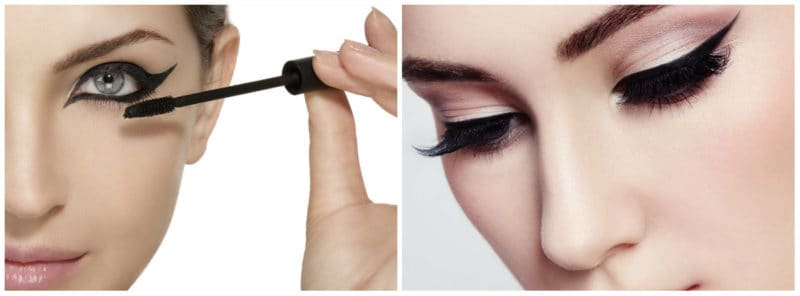 Make up Trends 2019: Arrows and long eyelashes