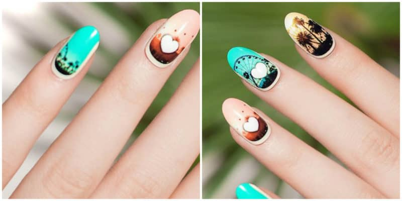 NAIL DESIGN 2019: Drawings on nails