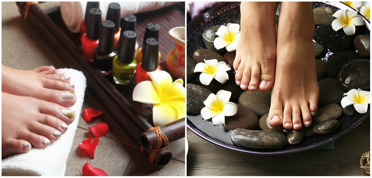 Pedicure 2019: Toenail care: Spa procedures