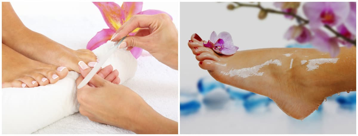 Pedicure 2019: Toenail care