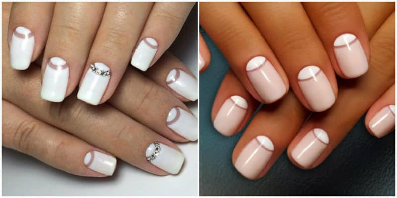 Wedding Nails 2019: Wedding Lunar Nails Design