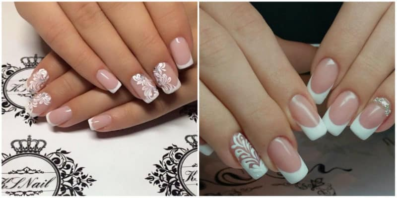 Wedding Nails 2019: Wedding French Nails