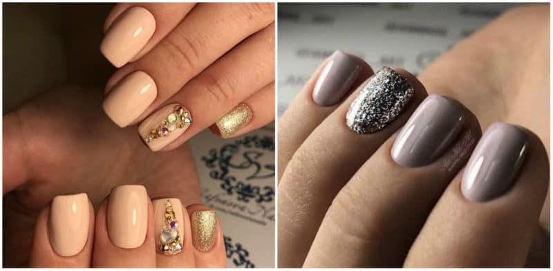 Fall nails 2020: Heavy glitter nail design: Trendy nail look