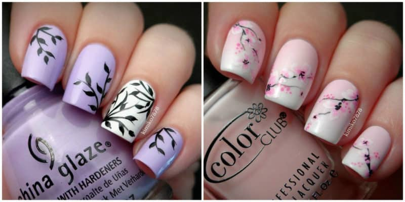 FINGERNAIL DESIGNS 2019: Nail design with drawings