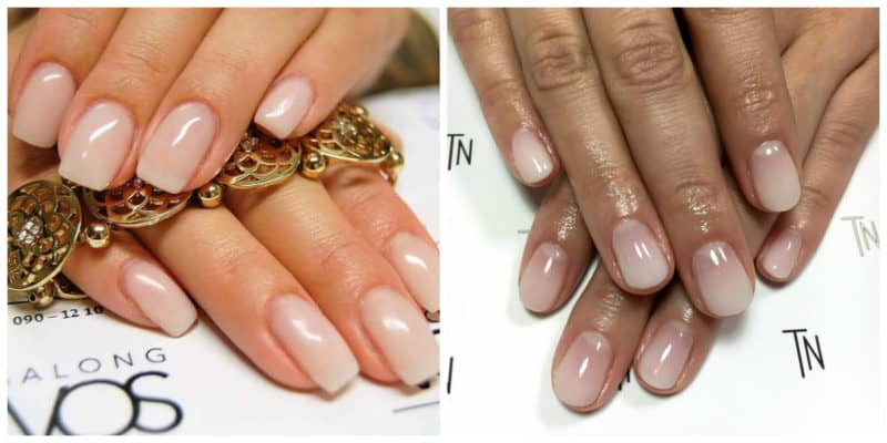 Latest nail trends 2019: Sheer nail design