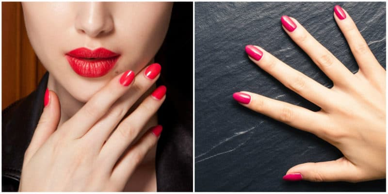 Latest nail trends 2020: Red nail design