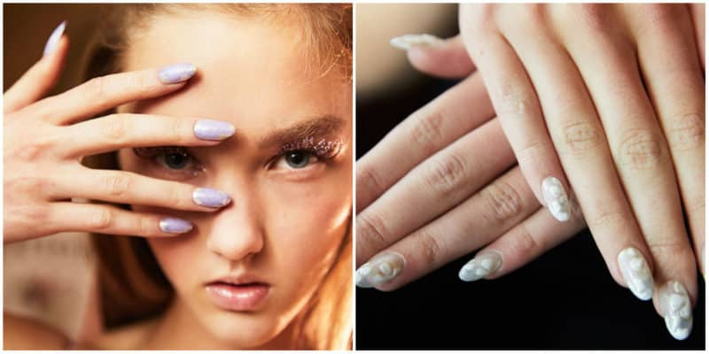 Latest nail trends 2019: Bridal nail design