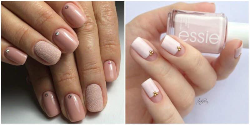 Nail designs for short nails 2019: Cuticle nail design
