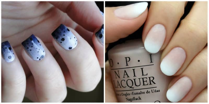 New nail trends 2020: Ombre nail style
