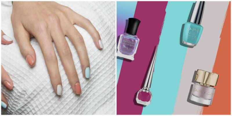 Spring nail colors 2020: Spring nail color hues