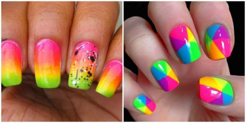 Summer nail art 2019: Colorful nail designs