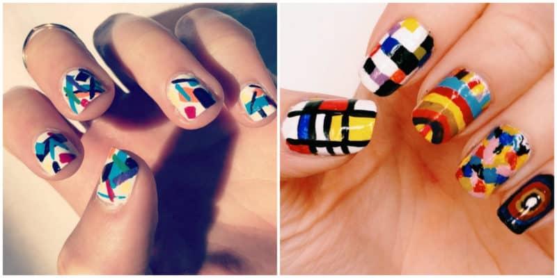 Nail trends 2019: Modern art nail design