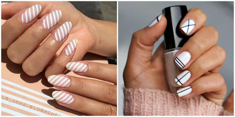 Nail trends 2019: White nail design