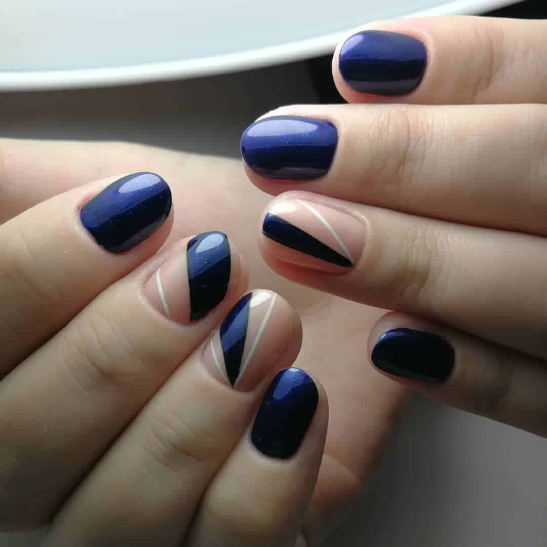 Short Nails 2019: several tips for chic and stylish short ...
