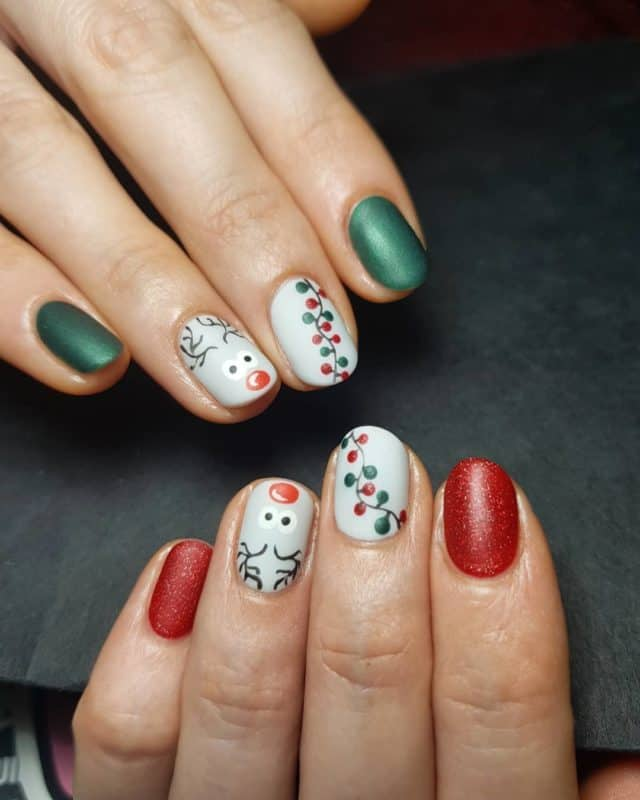 Top 11 Ideas for Winter Nail Colors 2020 (40 Photos+Videos)