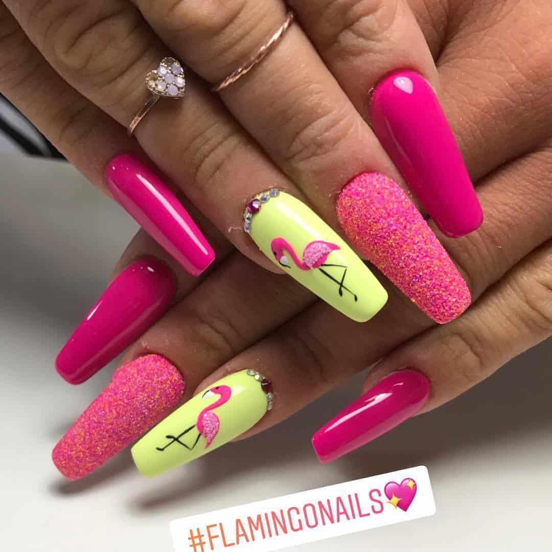pink nails 2021