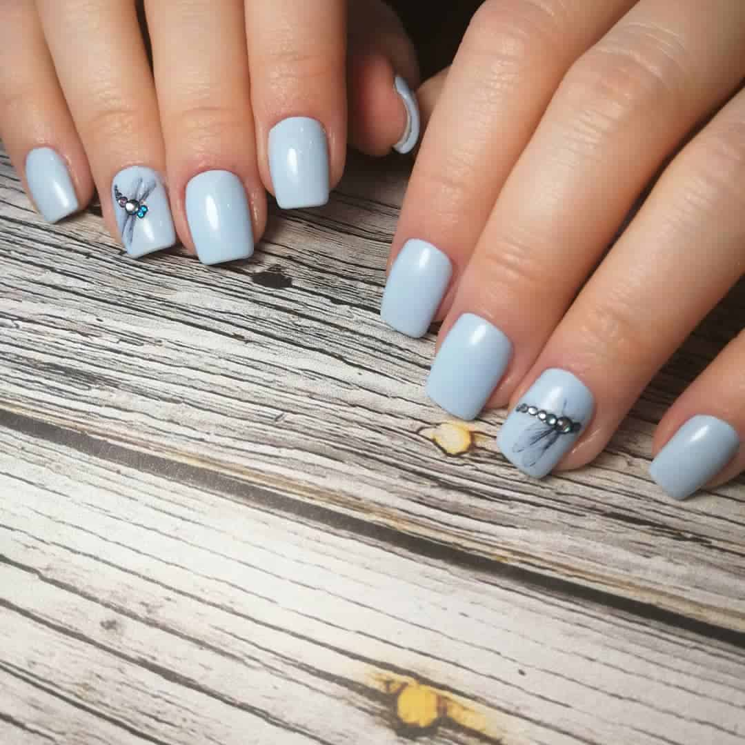 short-gel-nail-designs-2020