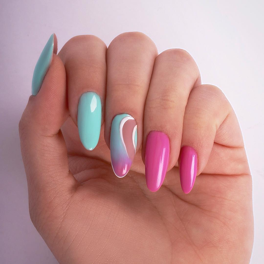 Nail Art Ideas 2020: Top 10 Bright-Colored Summer Nail Art 2020 Ideas And