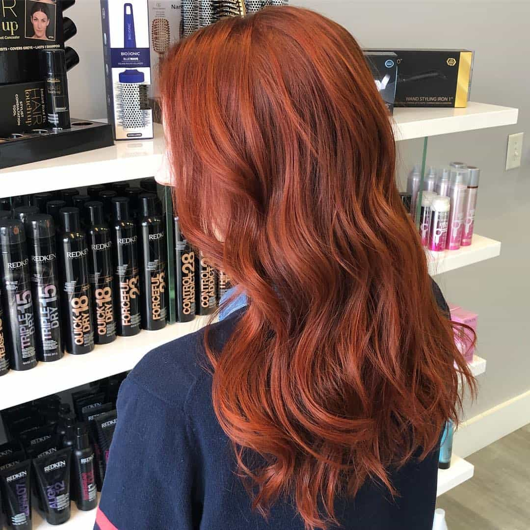 hair color trends 2020 redhead
