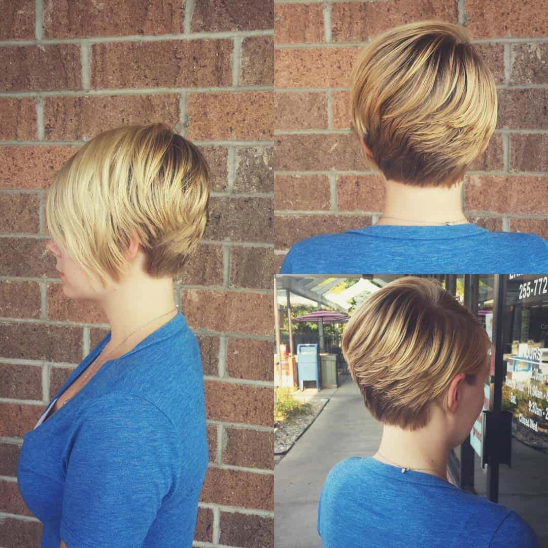 short haircuts for women 2020 layered pixie