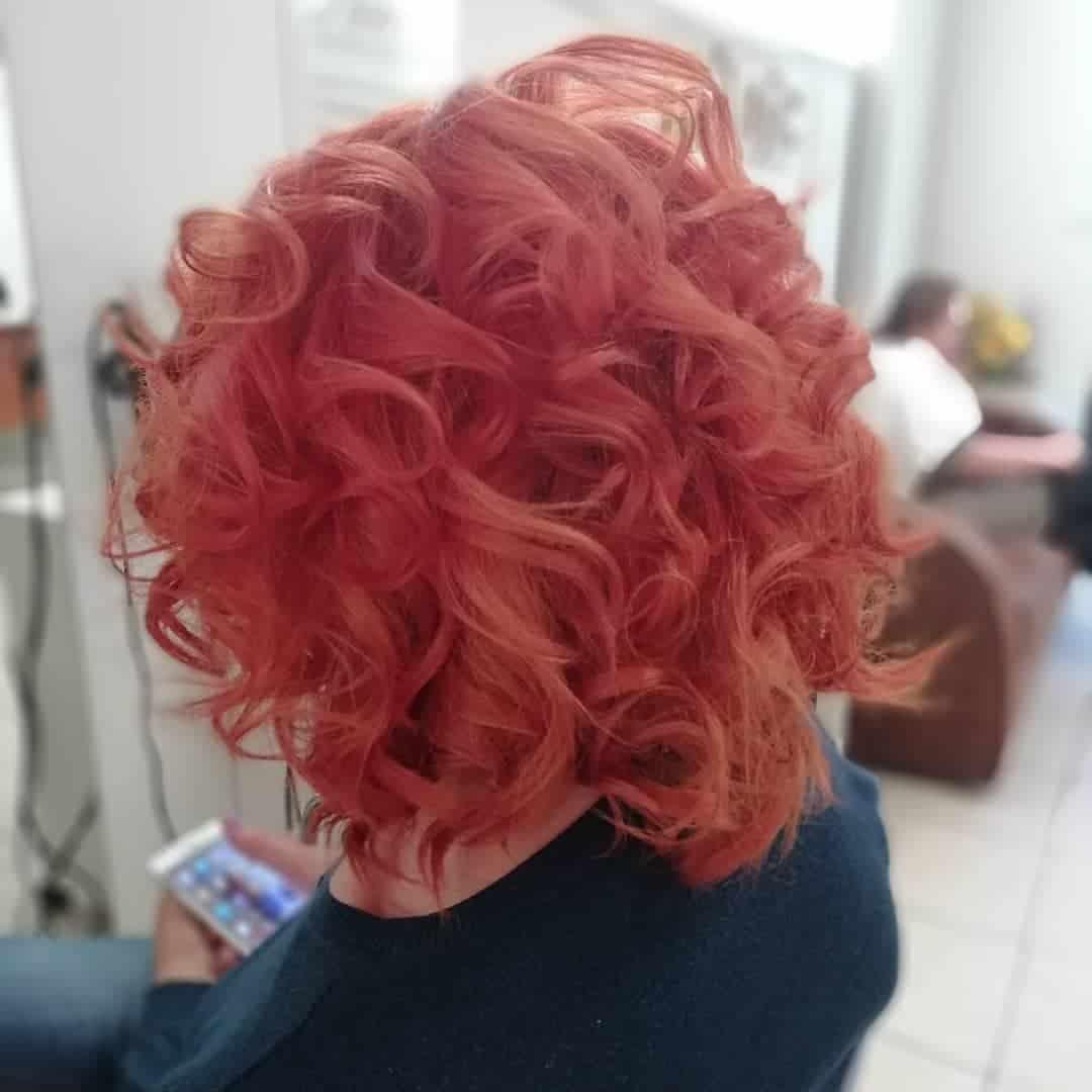 short haircuts 2020 messy ringlets