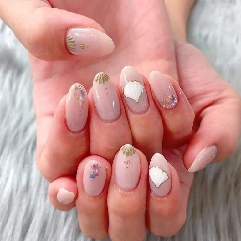 wedding nails designs 2020