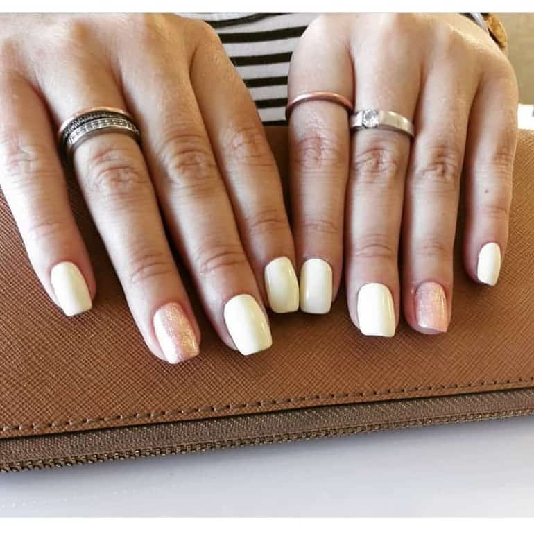 All shades of white nail colors 2020