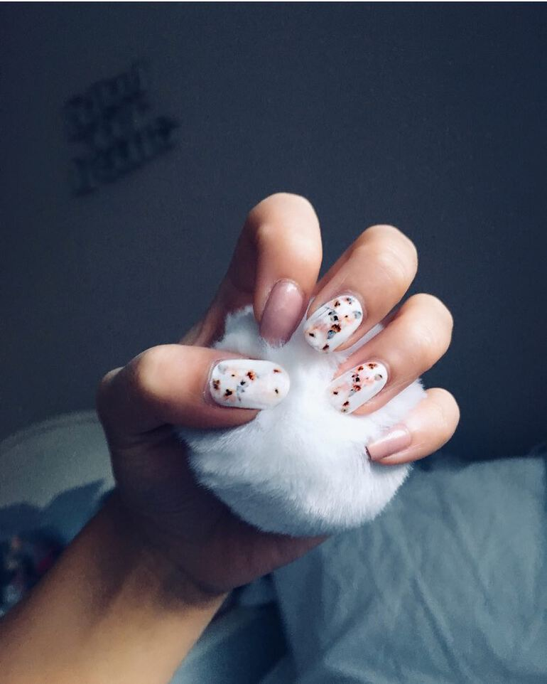 Nail trends 2020 with unique prints