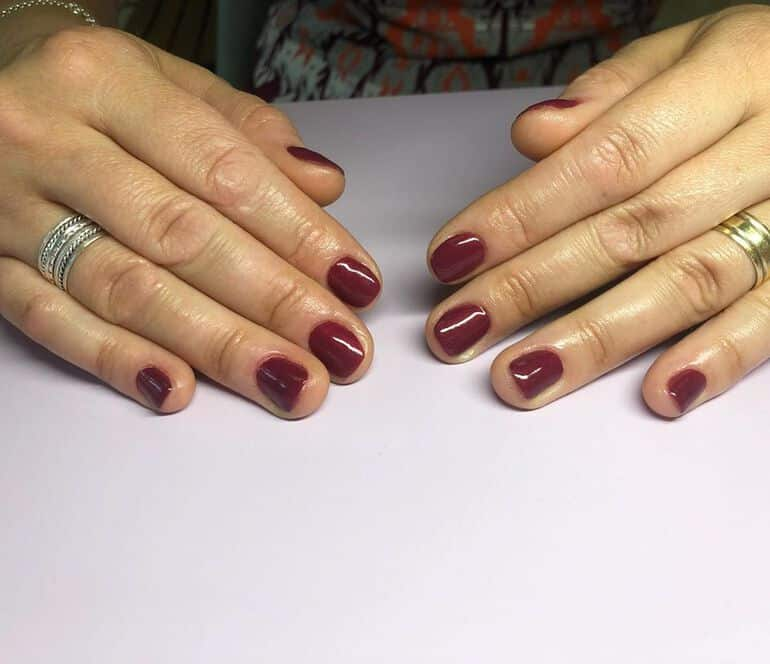 Marsala OPI nail colors 2020
