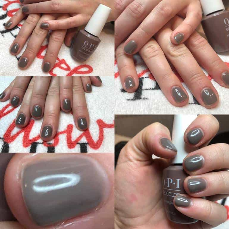 New OPI colors 2020 with brown tones