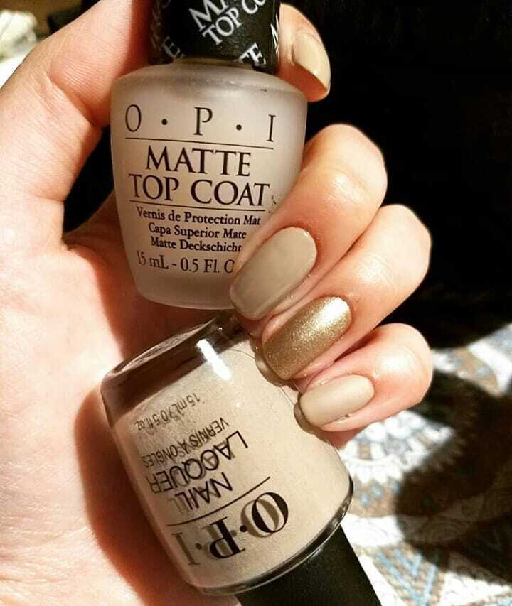 Milky matte in OPI colors 2020