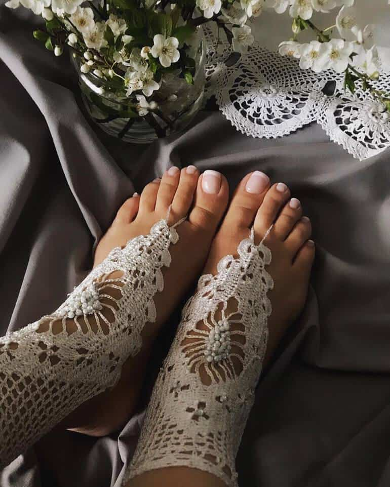 Wedding pedicure ideas 2020