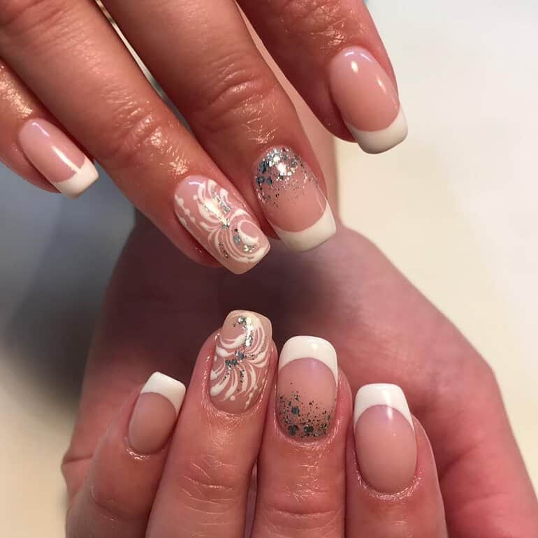 wedding nails 2020